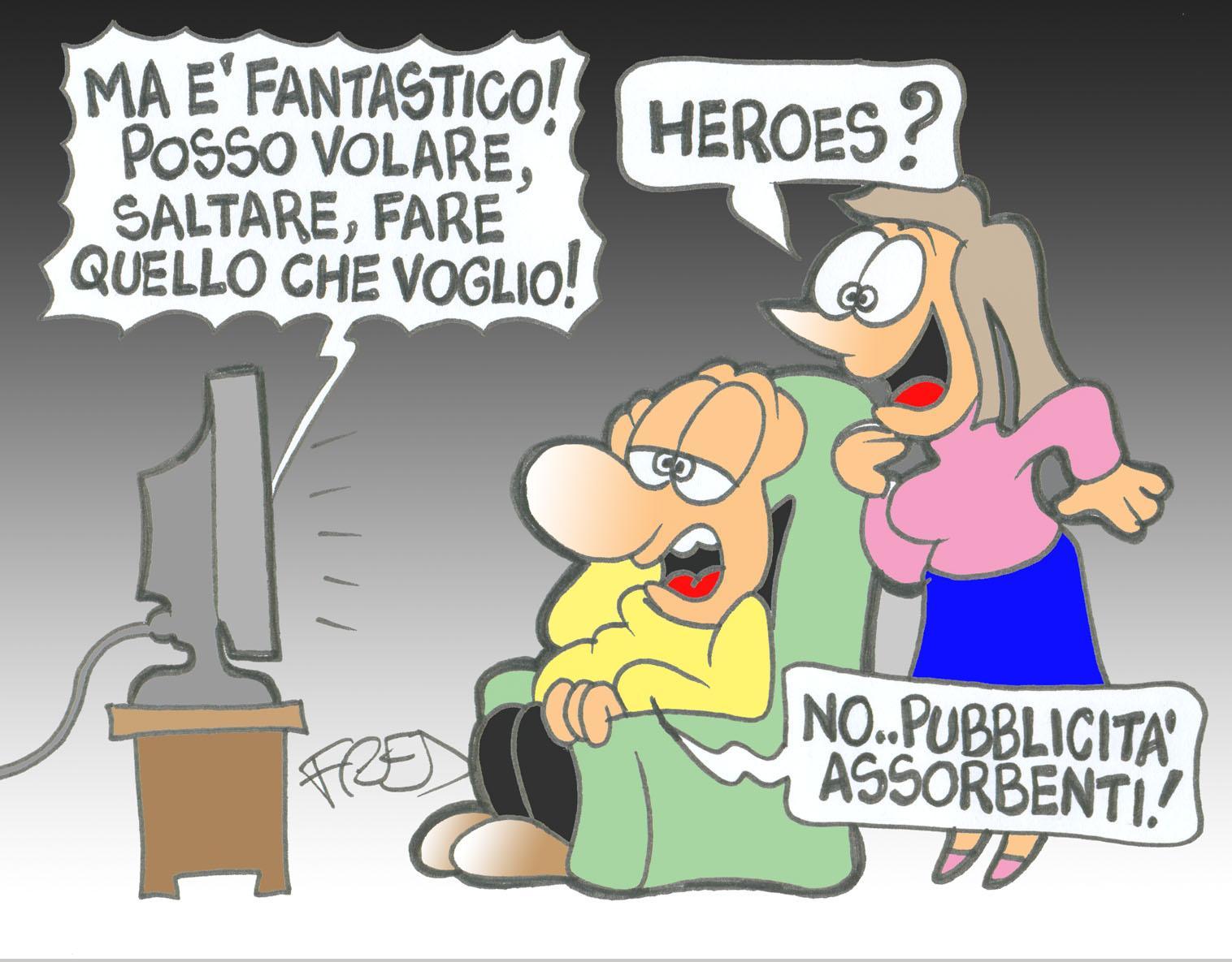 Serial tv heroes - Matrioska in terapia ...